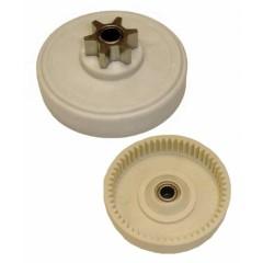 538243909 pignon de chaine 6 dents pour tronconneuse electrique. Black Bedroom Furniture Sets. Home Design Ideas