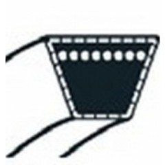 531006096 - Courroie de coupe tondeuse autoportée RIDER Husqvarna