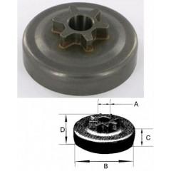 106906 - Pignon de Chaine 6 dents 3/8 pour tronconneuse ECHO