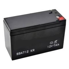 118120004/0 - Batterie sèche 12V - 7AH pour tondeuse autoportée Castelgarden / GGP