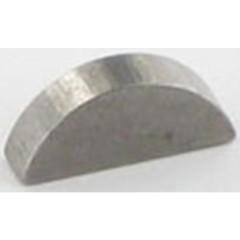 112139100/0 - Clavette demi-lune pour arbre 22.2mm p/ tondeuse Castelgarden / GGP