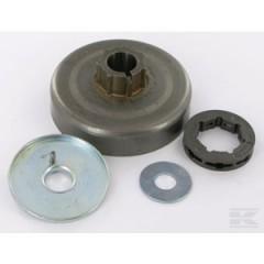 18200X - Pignon de chaine à anneau 3/8 7 dents pour tronconneuse Stihl - Mac Culloch ...