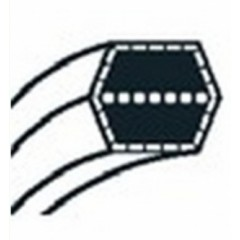 754-0270 - Courroie double trapèze pour autoportée MTD