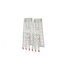 9108202 - Rampe Pliable en Aluminium pour tondeuse autoportée