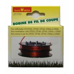 ZY793 - Bobine de fil nylon OUTILS WOLF pour OT845 - OT850 etc...