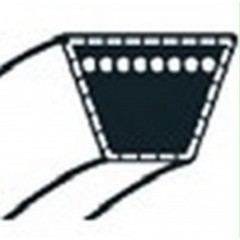 48044MA - Courroie de Coupe pour Tondeuse Autoportée NOMA