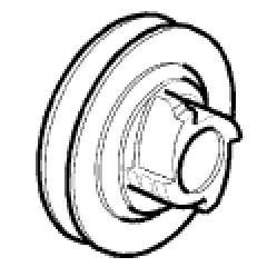 094500023R - Poulie lanceur pour tronconneuse OLEO MAC