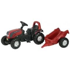 R01252 - Tracteur à pédales et remorque VALTRA