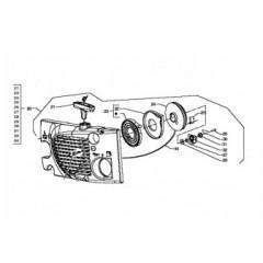 SG2044560 - Lanceur complet pour tronconneuse SANDRI GARDEN / BRITECH