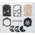 D10WB - Kit Membranes pour carburateur WALBRO