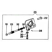 097000131BR - Pompe à Huile pour tronconneuse OLEO MAC