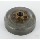 100962X - Pignon de chaine 3/8 6 dents pour tronconneuse Stihl