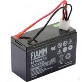 118120015/0 - Batterie sèche 12V - 9AH pour tondeuse autoportée Castelgarden / GGP