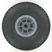 184680056/1 - Roue Avant complète pour tondeuse autoportée Castelgarden / GGP (4.10/3.50-4)