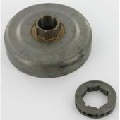 29175XW - Pignon de chaine à anneau 325 7 Dents pour HUSQVARNA - JONSERED ...