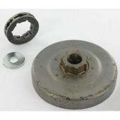29313X - Pignon de chaine à anneau 3/8 7 dents pour tronconneuse ECHO (PIECE OBSOLETE)