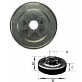 30681X - Pignon de chaine 3/8 - 7 dents pour tronconneuse HOMELITE
