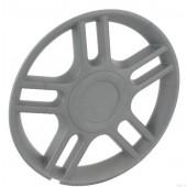 322110491/0 - Enjoliveur de roue AV Gris pour tondeuse Castelgarden / GGP / Stiga