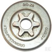 """4121200 - Pignon de chaine 3/8"""" 6 Dents pour tronconneuse ALPINA"""