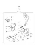 50072014BR - Frein de chaine complet pour tronconneuse OLEO MAC