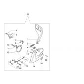 50072060A - Frein de chaine complet pour tronconneuse OLEO MAC
