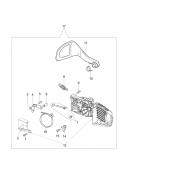 50162030CR - Frein de chaine complet pour tronconneuse OLEO MAC