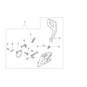 50170039R - Frein de chaine complet pour tronconneuse OLEO MAC