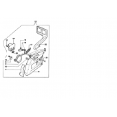 50202003AR - Frein de chaine complet pour tronconneuse OLEO MAC