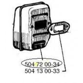 504720034 - Pot d'Echappement pour tronconneuse JONSERED (pièce OBSOLETE)