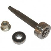 532137646 - Axe de palier de lame pour tondeuse autoportée AYP - Husqvarna - Mac Culloch ...