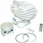 5702544 - Kit Cylindre / Piston pour tondeuse STIHL 026 / MS260 avec trou pour décompresseur