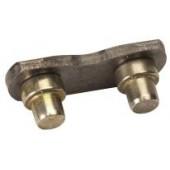 43008 - Maillon d'attache male pour chaine de tronconneuse 325 1.3 et 1.5mm (lot de 25)
