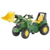 R71002 - Tracteur à pédales JOHN DEERE 7930 avec chargeur frontal