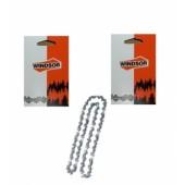 43RG52X2 - Lot de 2 Chaine de tronconneuse WINDSOR 3/8 Picco 1.1mm 52 Entraineurs (ARTICLE REMPLACE VOIR DETAIL)