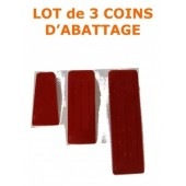 COINS - COIN D'ABATTAGE EN PLASTIQUE (Lot de 3)