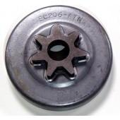 """EC206A7N - Pignon de chaine 3/8"""" 7 dents pour tronconneuse ECHO"""