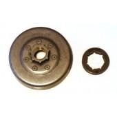 """JO264LCA7X - Pignon de chaine à Anneau 3/8"""" 7 dents pour tronconneuse JONSERED"""