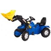 R04671 - Tracteur à pédales NEW HOLLAND TD5050 avec chargeur frontal