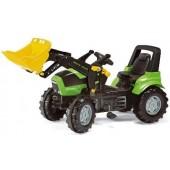 R71003 - Tracteur à pédales DEUTZ AGROTRON X720 ave chargeur frontal