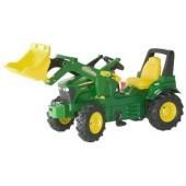 R71012 - Tracteur à pédales JOHN DEERE 7930 avec chargeur frontal