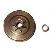 """RM552J7N - Pignon de chaine 325"""" 7 dents pour tronconneuse REDMAX / KOMATSU / ZENOAH"""