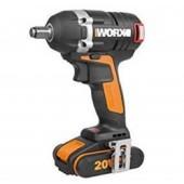 WX279 - Clé à Choc WORX - 2 Batteries + Chargeur INCLUS