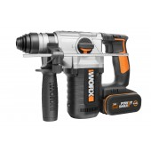 WX392 - Marteau Perforateur 26mm WORX - 2 Batteries + Chargeur INCLUS