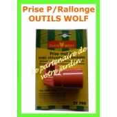 7930 - Prise pour rallonge OUTILS WOLF